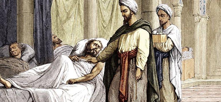 جراحة المسالك البولية عند العرب