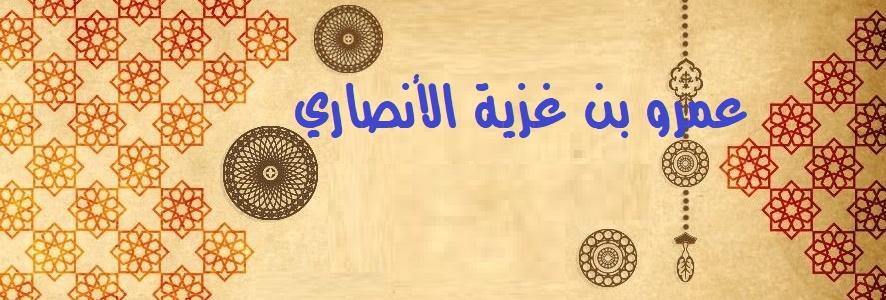 عمرو بن غزية الأنصاري