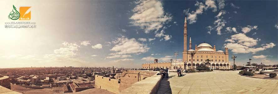 جامع محمد علي بقلعة الجبل في القاهرة